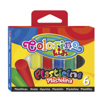 Пластилін Colorino 6кольорів арт.13871PTR