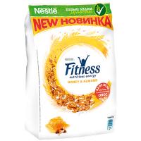 Пластівці Fitness Honey&Almond сухий сніданок 400г
