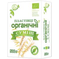 Пластівці Козуб Органічні суміш 500г