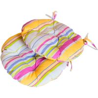 Подушка на стілець Прованс Stripe кругла 40см