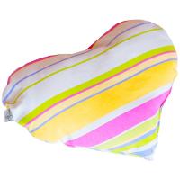 Подушка на стілець Прованс Stripe Серце