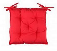 Подушка ТМ Прованс на стілець червона 40х40см