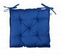 Подушка ТМ Прованс на стілець синя 40х40см