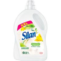 Кондиціонер-ополіскувач безфосфатний для тканин Silan Naturals Іланг-Іланг та ветивер, 2,7 л