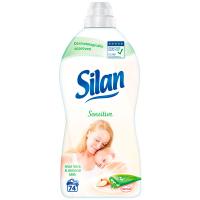 Пом`якшувач тканин Silan Алое та мигдальне молочко 1850мл