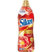 """Кондиціонер-ополіскувач безфосфатний для тканин Silan Aromatherapy """"Чуттєва троянда"""", 800 мл"""