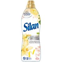 """Кондиціонер-ополіскувач безфосфатний для тканин Silan Aromatherapy """"Лимонний цвіт і мінерали"""", 800 мл"""
