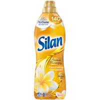 """Кондиціонер-ополіскувач безфосфатний для тканин Silan Aromatherapy """"Захоплюючий Франджипані"""", 800 мл"""