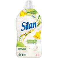 Кондиціонер-ополіскувач для тканин Silan Naturals Іланг-Іланг та ветивер, 1,45 л