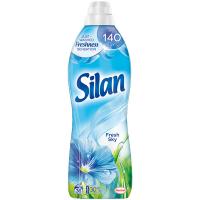 """Кондиціонер-ополіскувач безфосфатний для тканин Silan """"Небесна свіжість"""", 900 мл"""