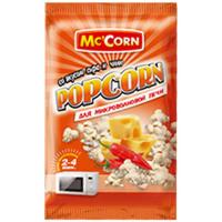 Попкорн McCorn гострий сир 90г
