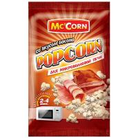 Попкорн Mc`Corn зі смаком бекону для м/п 90г