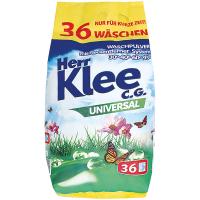 Пральний порошок безфосфатний екологічний Herr Klee C.G. Universal, 3 кг