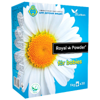 Пральний порошок гіпоалергенний для дитячих речей Royal Powder automat, 1 кг