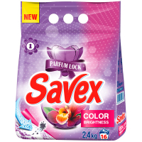 Порошок пральний Savex Automat Color Fresh Parfum 2400г