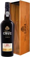 Винo Gran Gruz Porto червоне в коробці 0,75л x2