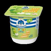Сирок для малят з іфідобактеріями Простоквашино Яблуко 3,0% 90г