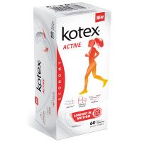 Прокладки Kotex Active comfort in motion 60шт