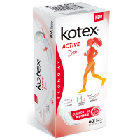 Прокладки Kotex Active Deo comfort in motion 60шт