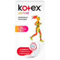 Прокладки Kotex Active екстра тонкі 48шт