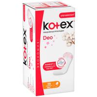 Щоденні гігієнічні прокладки Kotex Deo Normal, 56 шт.