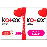 Гігієнічні прокладки Kotex Ultra Super, 16 шт.
