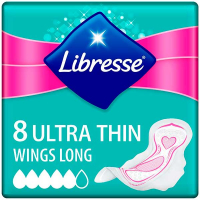 Гігієнічні прокладки Libresse Ultra Thin, 8 шт.