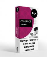 Картридж Logic Compact Purple Mix 1.5% 2*1.7мл