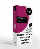 Картридж Logic Compact Purple Mix 1.5% 2*1.7мл