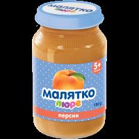Пюре Малятко персик (скло) 180г
