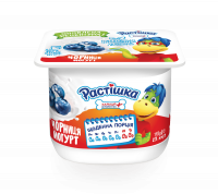 Йогурт Danone Растишка Чорниця 2% 115г