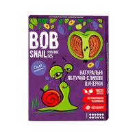 Цукерки Bob Snail яблучно-сливові 120г х15