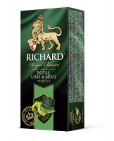 Чай Richard Royal Lime&Mint зелений 25*2г