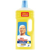 """Рідина миюча концентрована для підлоги/стін Mr.Proper """"Лимон"""", 1,5 л"""