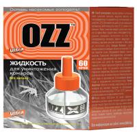 Рідина від комарів OZZ Ultra 60 ночей, 45 мл