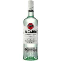 Ром Bacardi Carta Blanca 40% 0,7л