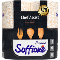 Рушники паперові рулонні Soffione Premio Chef Assist, 2 шт.