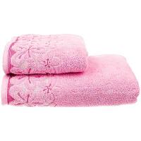 Рушник Yana махровий 70*130см рожевий