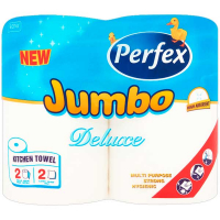 Рушники паперові Perfex Jumbo 2 рул.