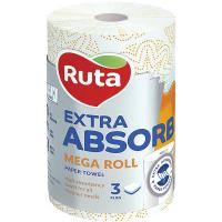 Рушники Ruta Selecta паперові 3-х шарові 1рул.