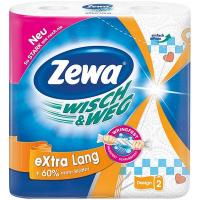 Рушники Zewa Wisch&Weg паперові 2шт