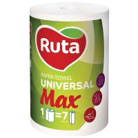 Рушники паперові рулонні Ruta Max 350 Білий, 1 шт.