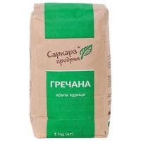 Крупа гречана Саркара Продукт ядриця п/п 1кг