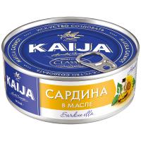 Сардина Kaija антлантична в олії 240г