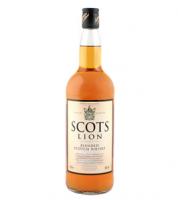 Віскі Scots Lion  40% 0,5л тубус  х6