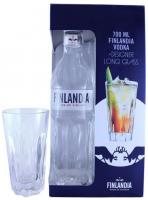 Горілка Finlandia 40% 0,7л + келих