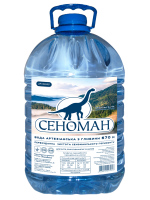 Вода мінеральна Сеноман негазована столова 5л