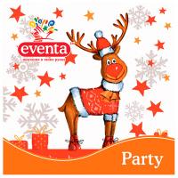 Серветки Eventa Party 33*33см 20шт. святкові