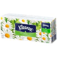 Хустинки носові паперові Kleenex Aroma Camomile, 10 пачок