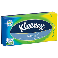 Серветки Kleenex Balsam паперові 21*20см 80шт
